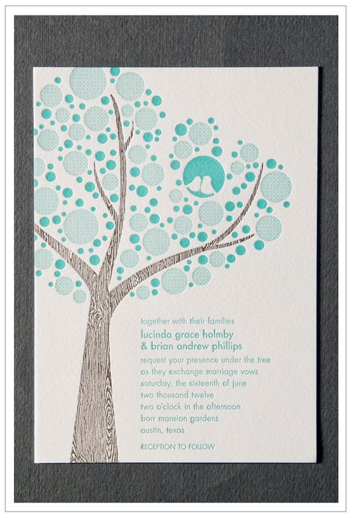 6a00e554ee8a2288330120a5e383a3970b 500wi Letterpress Lovebird Wedding Invitations