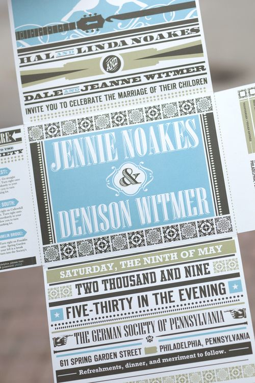 6a00e554ee8a2288330120a6fe0717970b 500wi Mixed Typography Wedding Invitation