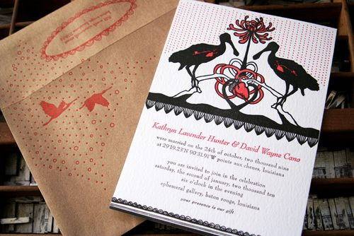 6a00e554ee8a2288330120a8a488ce970b 500wi Kathryn + Davids Coastal Louisiana Letterpress Wedding Invitations