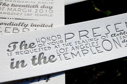 6a00e554ee8a2288330120a8b1e695970b 500wi Single Color Letterpress Wedding Invitations
