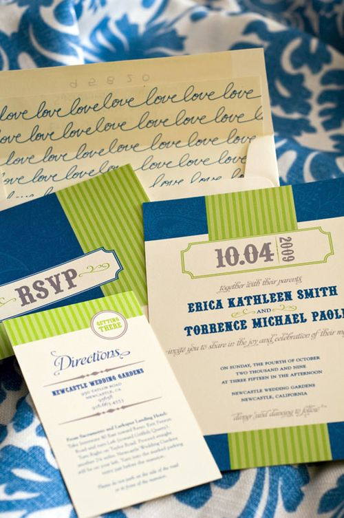 6a00e554ee8a2288330120a8c181e2970b 500wi Erica + Torys Modern Country Wedding Invitations