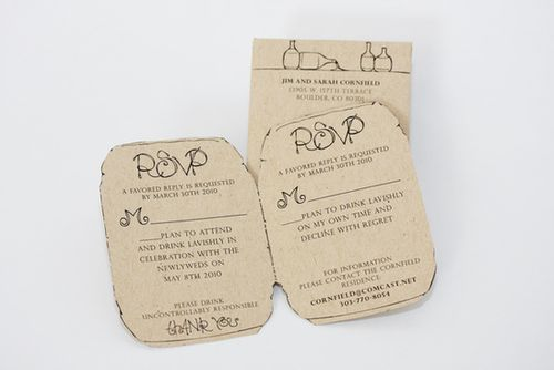 6a00e554ee8a2288330120a938e7f3970b 500wi Kraft Paper Spring Wedding Invitations
