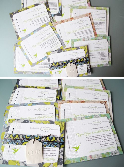 6a00e554ee8a22883301287790df69970c 500wi Quyen + Roberts Colorful DIY Wedding Invitations