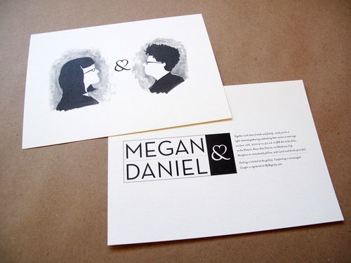 6a00e554ee8a228833013480a1cfe2970c 500wi Megan + Daniels Quirky Black and White Invitations