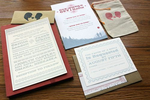 6a00e554ee8a228833013480b4c47b970c 500wi Cate + Jacobs Bluegrass Silhouette Wedding Invitations