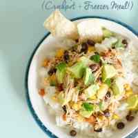 Crockpot Mexican Pineapple Chicken Freezer Meal