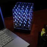 64 Multi-Color Animated LED Light Cub