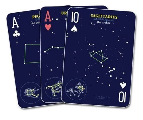 Constellations Playing Cards
