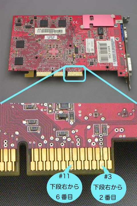 PC/AT用のRadeon9700proをMacで使えるように改造