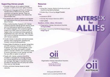 Intersex for allies