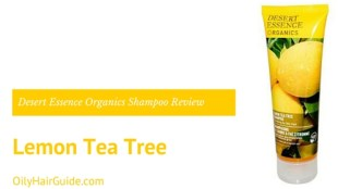 Desert Essence Organics Lemon Tea Tree Shampoo Review