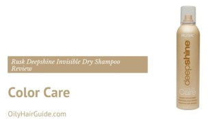 Rusk Deepshine Color Care Invisible Dry Shampoo Review