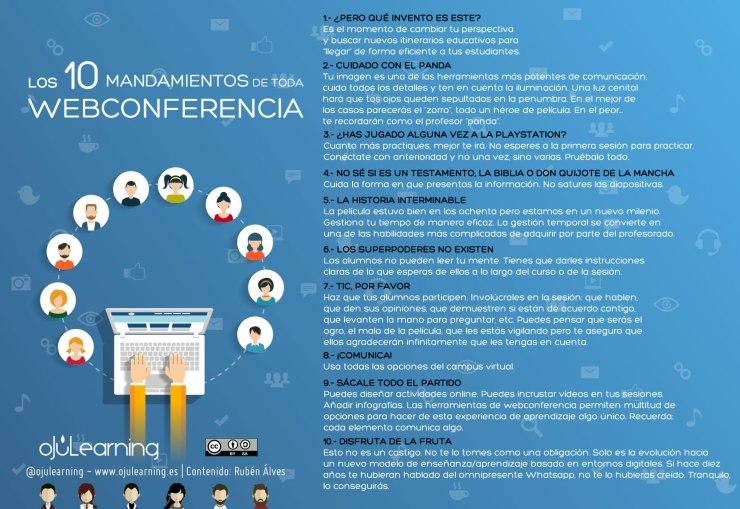 mandamientos webconferencia