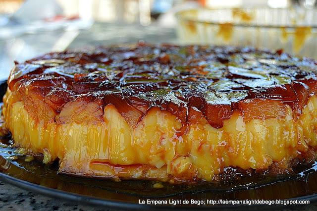 Tarta de Flan con Piña (Sin Horno)