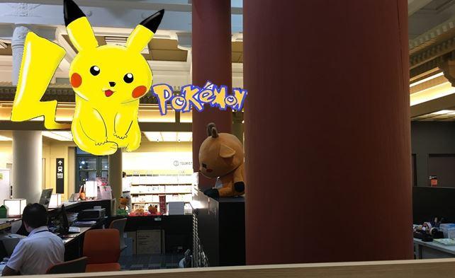 JR奈良駅前の奈良市総合観光センターにこもりバトルばっかしてみた【ポケモンGO  5日目】