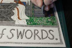 WIP - Queen of Swords 2