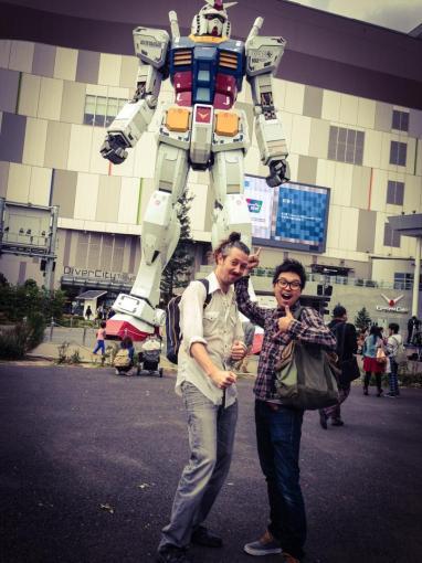 Gundam with Nathan Cartwright