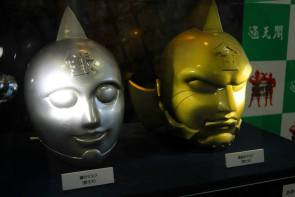 Muscle Man Exhibition@Tsutenkaku - Silver & Gold Masks
