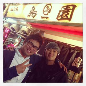 At Torien with Iwabuchi. Thank you!!