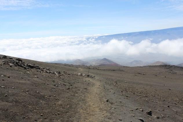 Wanderweg auf den Gipfel des Mauna Kea