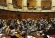 Na Câmara, deputados aprovam a legalização da venda da maconha. (Foto: Miguel Roho/AFP)