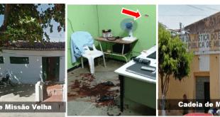 Dois resgates de presos no Cariri em setembro, um em Milagres e outro em Missão Velha