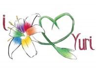 Rainbow Lily original design for Yuricon by Ali Khan