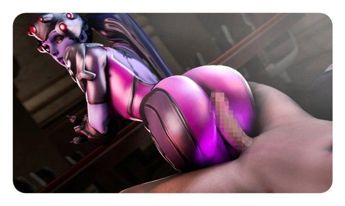 [Overwatch] キャラクターがエロすぎてプレイに集中できないwww Part6 [3DCG,SFM] (77)