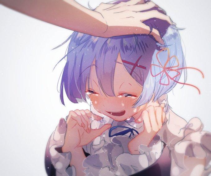 [Re:ゼロから始める異世界生活] 鬼かわいい レム エロ画像 03 (1)