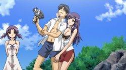 [15美少女漂流記OVA] 孤島で美少女15人+男1人のウハウハのサバイバル生活 Part3