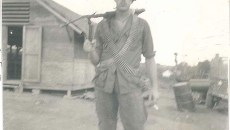 Don Sloat volunteered for the draft during the Vietnam War. (Provided)