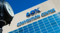 South face of the Cox Convention Center.Photo/Shannon Cornman