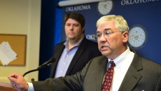 Sen. David Crain, R-Tulsa, called for federal lawmakers to pass immigration reform. (Mark Hancock)