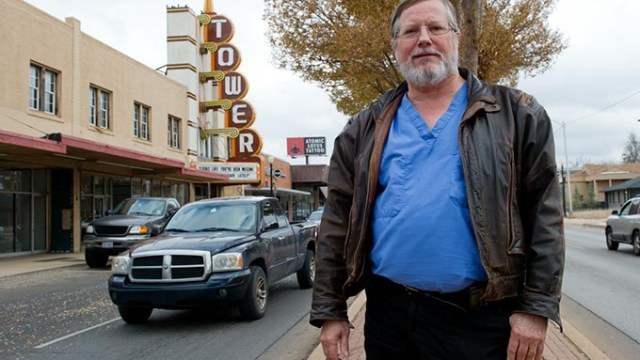 Larry Kincheloe, who managed Tower Theatre in 1974, reminisces about the venue's glory days. The building soon will be renovated and opened under new ownership. (Garett Fisbeck)