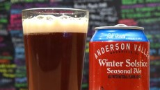 The Anderson Valley Winter Solstice Seasonal Ale at The Mule.  mh