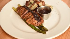Duck breast with asparagus and potatoes at Blackbird Gastropub in Norman.  mh