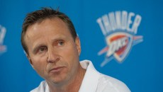 Scott Brooks was let go from the Thunder today. (Mark Hancock)