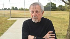 Ward 4 Oklahoma City Councilman Pete White proposes turning aspects of the Souther Oaks Park and Community Center, next to Parmalee Elementary School, into a Southern Oaks Learning and Wellness Campus.  Pete White, shown near a baseball backstop situated in the southern section of the property, near Lightning Creek which he thinks can be developed into a more user friendly area, 10-22-15.  (Mark Hancock)