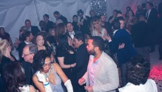 Guests dance at the inaugural Glitter Ball in January. (AARON GILILLAND / PROVIDED)