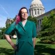 Marina Mangiarcina poses for a photo at the Oklahoma State Capitol, Tuesday, May 31, 2016.  (Garett Fisbeck)