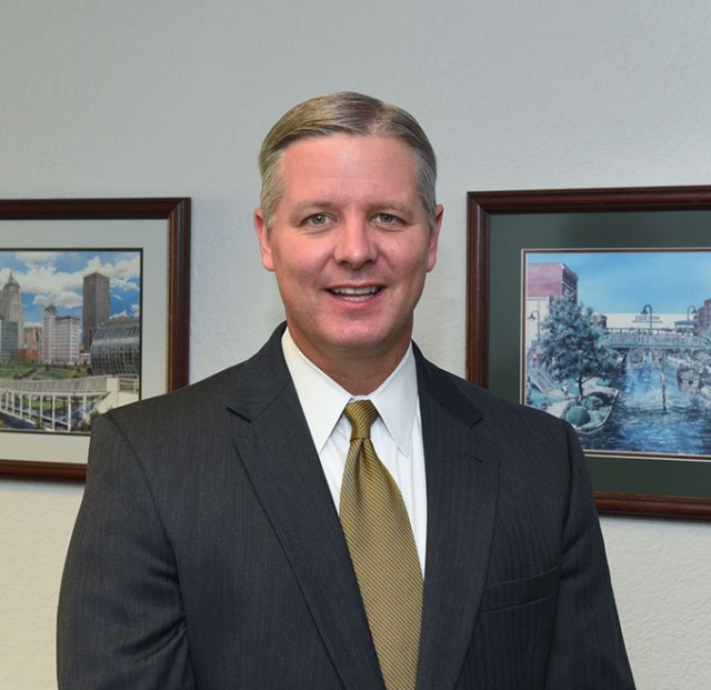Eric Wenger is director of Oklahoma City's public works department. (Gazette / file)