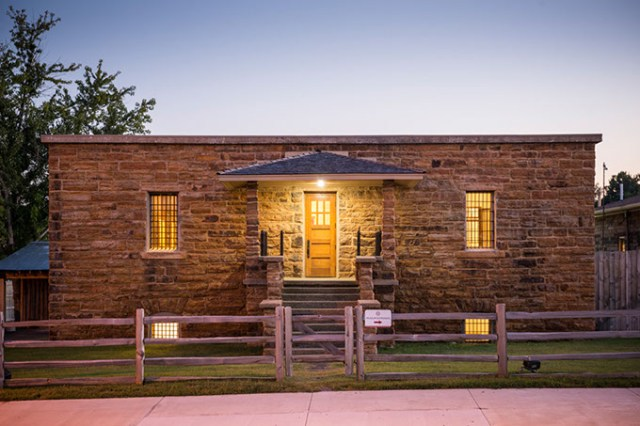 The Cherokee National Prison Museum in Tahlequah (Photo provided)