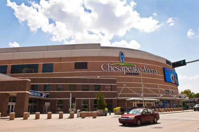 Chesapeake Energy Arena renovations are being considered for future general obligation bond projects. (Gazette / file)