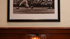 Mickey Mantle's Steakhouse dining room, 2-6-2015, Bricktown, Oklahoma City.  (Mark Hancock)