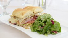 Cuban Sandwich​ at Museum Cafe, Tuesday, Nov. 29, 2016.  (Garett Fisbeck)