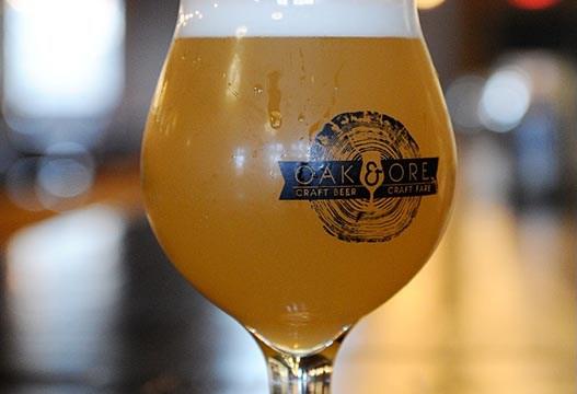 A beer at Oak and Ore in Oklahoma City, Monday, Nov. 30, 2015.  (Garett Fisbeck)