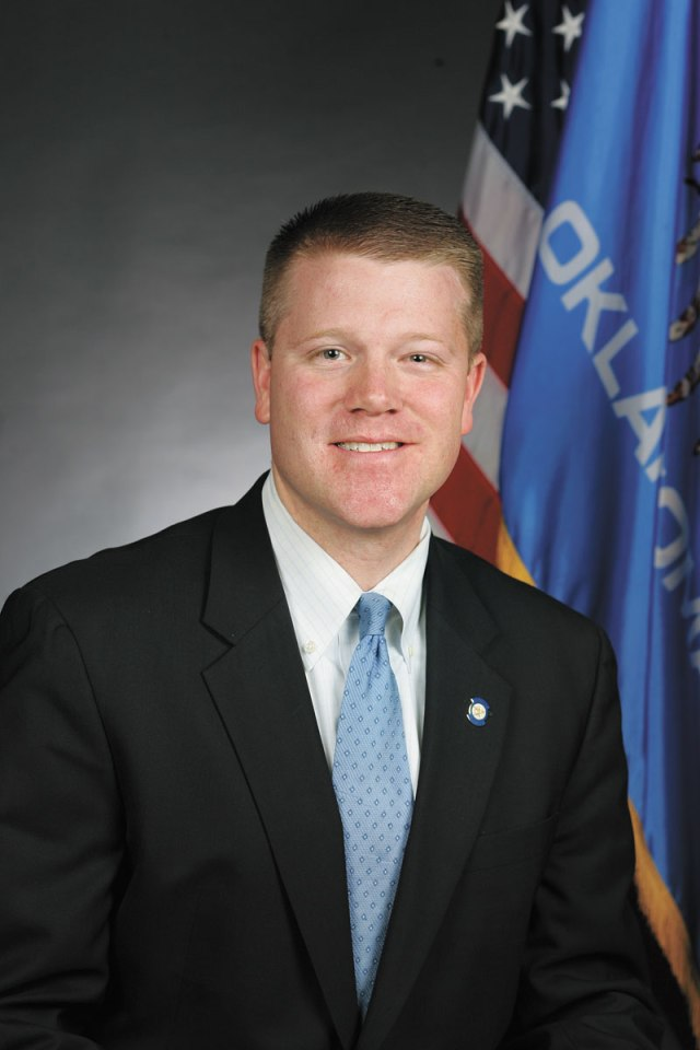 Rep. Mike Sanders authored the Impaired Driving Elimination Act, House Bill 3146, which passed in a bipartisan effort to improve prosecution of repeat DUI offenders. (State of Oklahoma / provided)