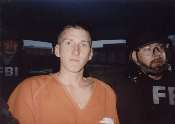 Timothy McVeigh in custody after Murrah building bombing (Oklahoma City National Memorial and Museum / Public Broadcasting Service / provided)
