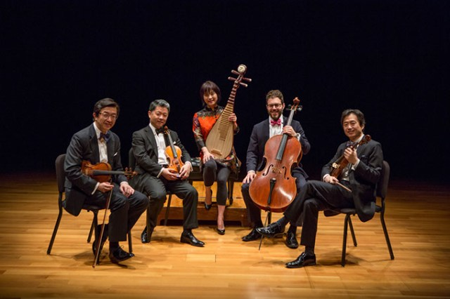 Wu Man and Shanghai String Quartet (Ben Doyle / provided)