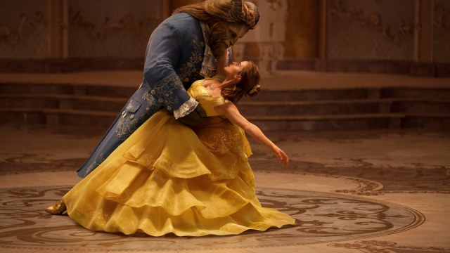 Emma Watson stars as Belle and Dan Stevens as the Beast in Disney's <em>Beauty and the Beast</em>, a live-action adaptation of the studio's animated classic directed by Bill Condon. (Photo Walt Disney Pictures / provided)